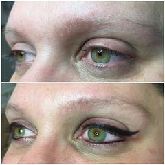 Permanente make-up eyeliner Epe Gelderland Zwolle Overijssel