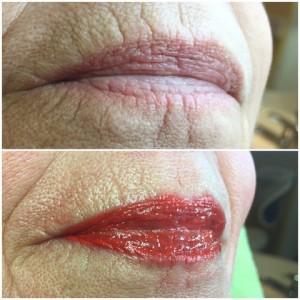 Full Lips lippen permanente make-up contour